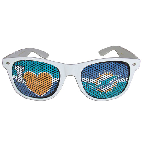 Miami Dolphins   I Heart Game Day Shades