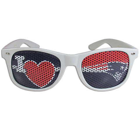New England Patriots   I Heart Game Day Shades