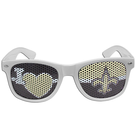 New Orleans Saints   I Heart Game Day Shades