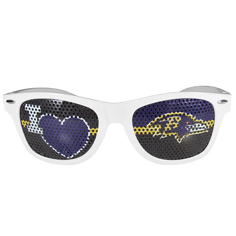 Baltimore Ravens   I Heart Game Day Shades