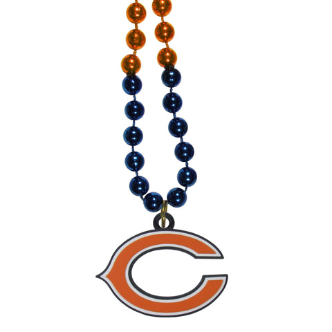 Chicago Bears   Mardi Gras Bead Necklaces