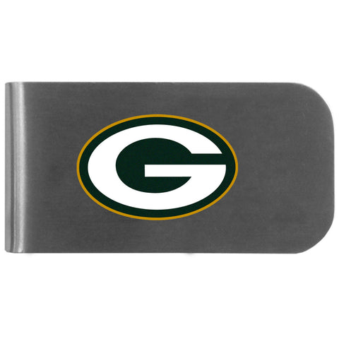 Green Bay Packers   Logo Bottle Opener Money Clip