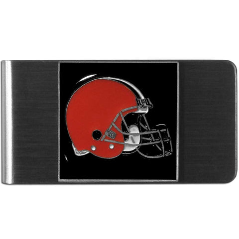 Cleveland Browns   Steel Money Clip