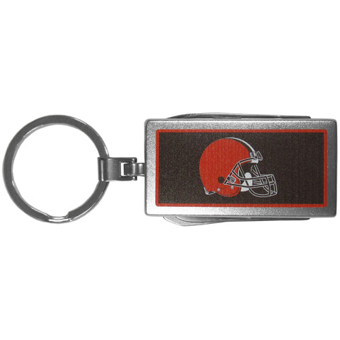 Cleveland Browns   Multi tool Key Chain Logo