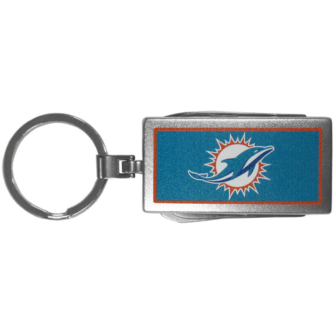 Miami Dolphins   Multi tool Key Chain Logo