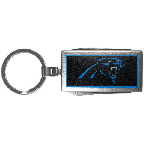 Carolina Panthers   Multi tool Key Chain Logo