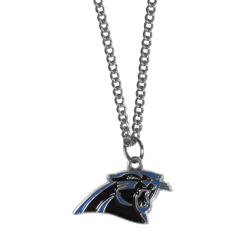 Carolina Panthers   Chain Necklace with Small Charm