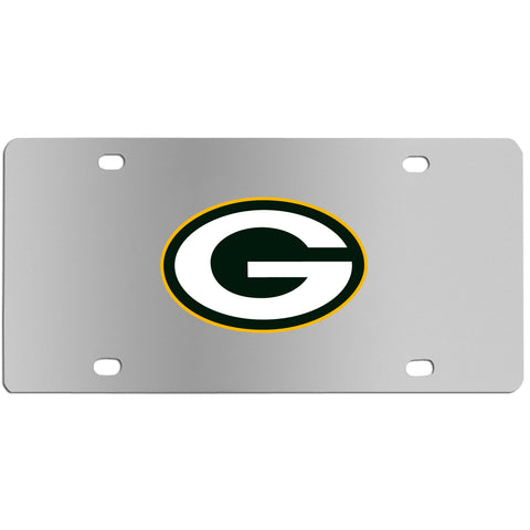 Green Bay Packers   Steel License Plate Wall Plaque