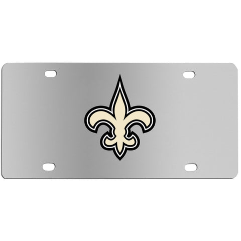 New Orleans Saints   Steel License Plate Wall Plaque