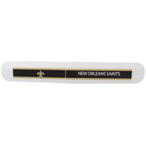 New Orleans Saints   Travel Toothbrush Case