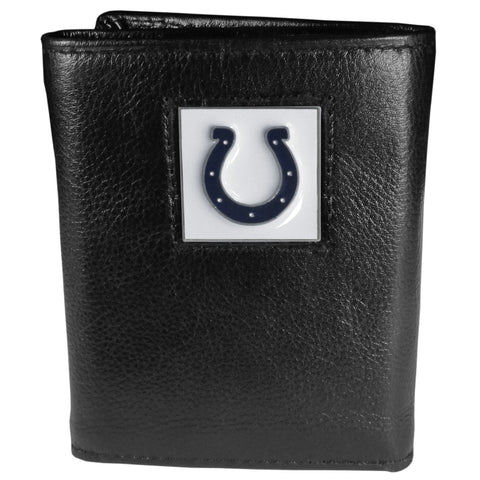 Indianapolis Colts   Leather Tri fold Wallet