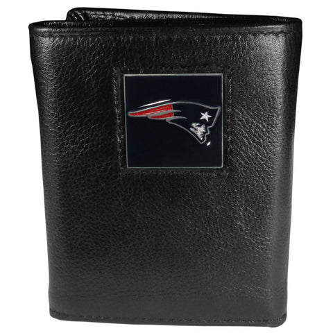 New England Patriots   Leather Tri fold Wallet