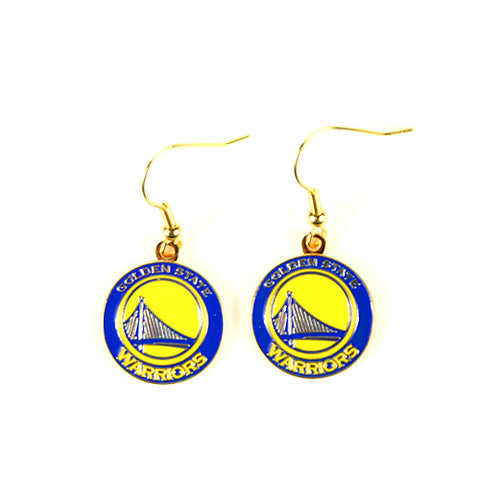 Golden State Warriors Dangle Earrings - The SOPHIE Style