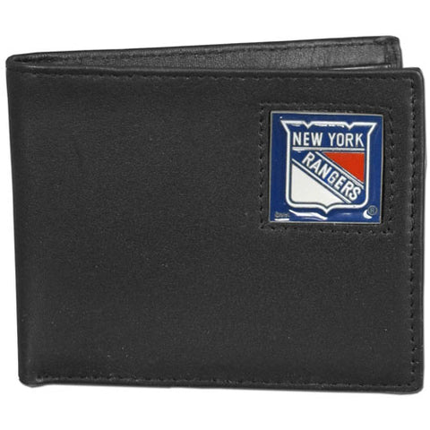 New York Rangers   Leather Bi fold Wallet