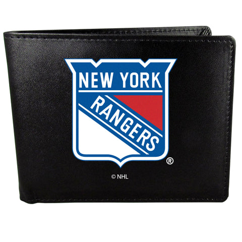 New York Rangers   Bi fold Wallet Large Logo