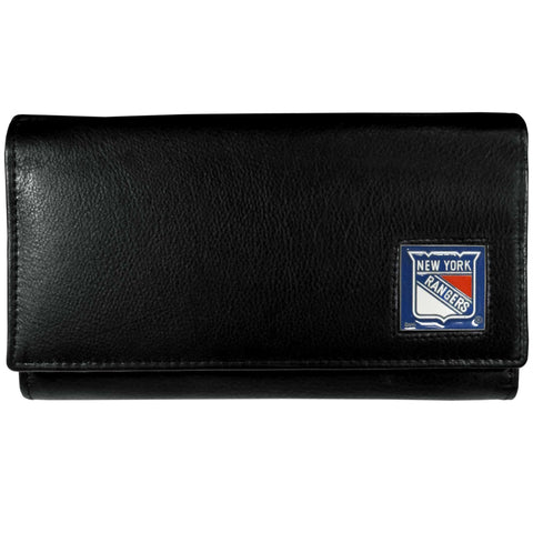 New York Rangers   Leather Women's Wallet