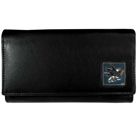 San Jose Sharks   Leather Women's Wallet