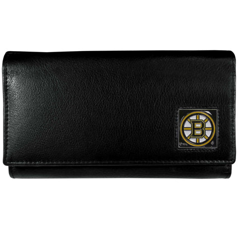 Boston Bruins   Leather Women's Wallet