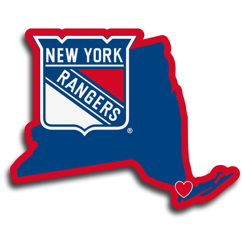 New York Rangers   Home State Decal