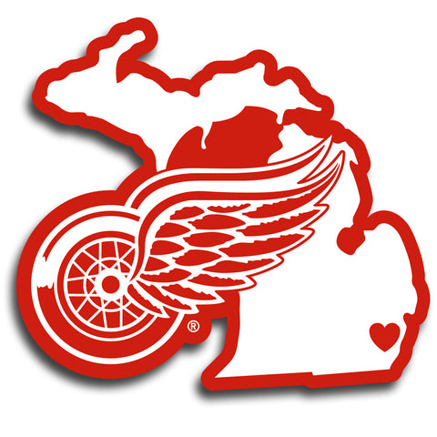 Detroit Red Wings   Home State Decal
