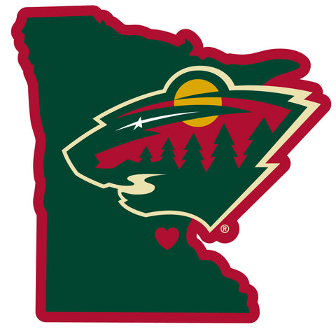 Minnesota Wild   Home State Decal
