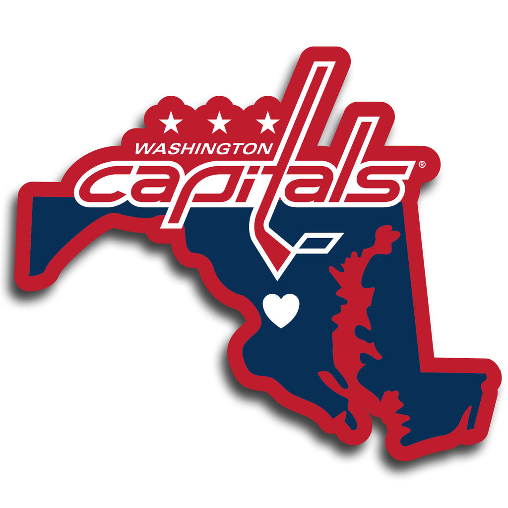 Washington Capitals® Home State Decal - Repositionable