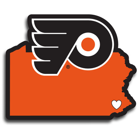 Philadelphia Flyers   Home State Decal