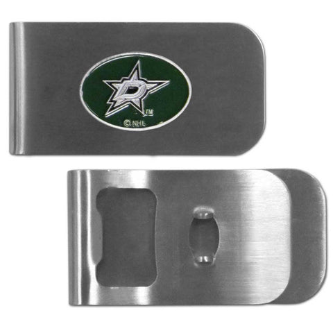 Dallas Stars   Bottle Opener Money Clip