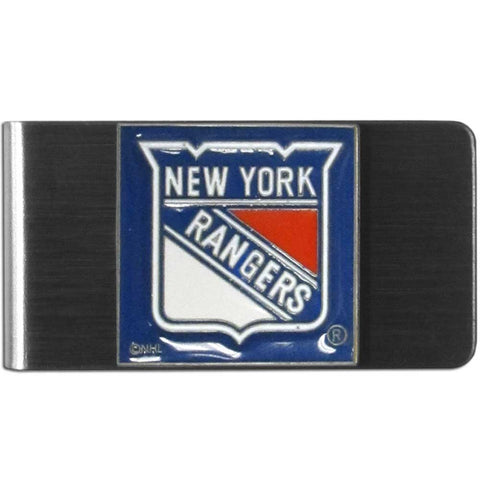 New York Rangers   Steel Money Clip