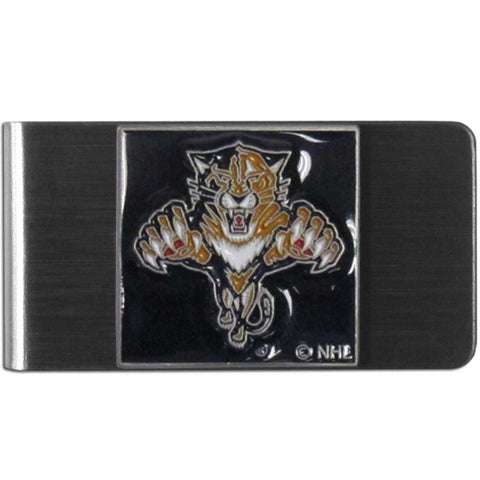 Florida Panthers   Steel Money Clip