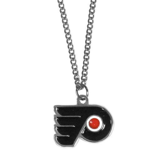Philadelphia Flyers   Chain Necklace with Small Charm