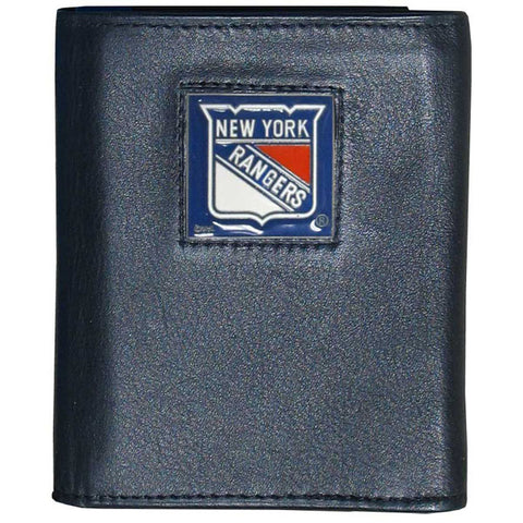 New York Rangers   Leather Tri fold Wallet