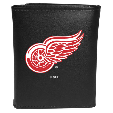 Detroit Red Wings   Tri fold Wallet Large Logo