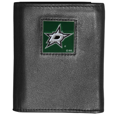 Dallas Stars   Leather Tri fold Wallet