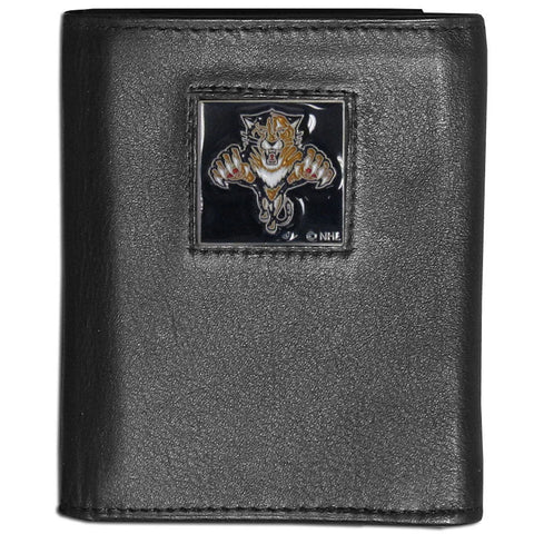 Florida Panthers   Leather Tri fold Wallet