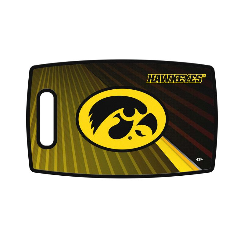 finest selection a98d1 26917 NCAA Iowa Hawkeyes Large Cutting Board