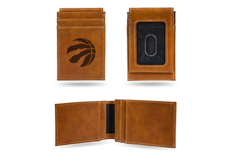 Toronto Raptors Laser Engraved Front Pocket Wallet