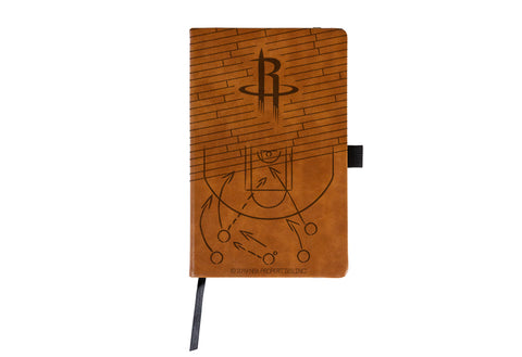 Houston Rockets Engraved Notepad