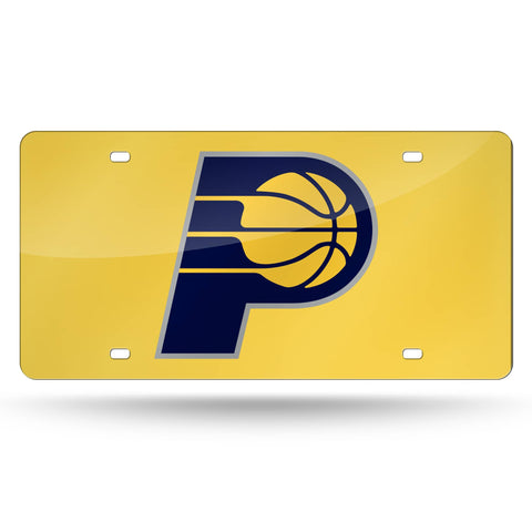 Indiana Pacers Laser Cut License Tag