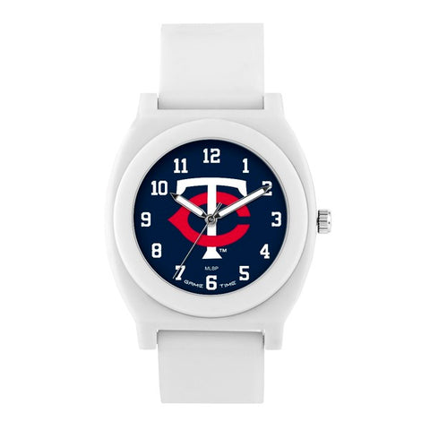 Minnesota Twins Analog Fan White Unisex Watch