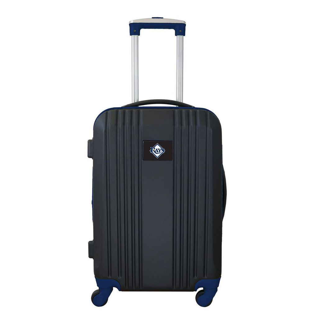 Tampa Bay Rays Luggage Carry-on 21in Hardcase two-tone Spinner 100% ABS-NAVY