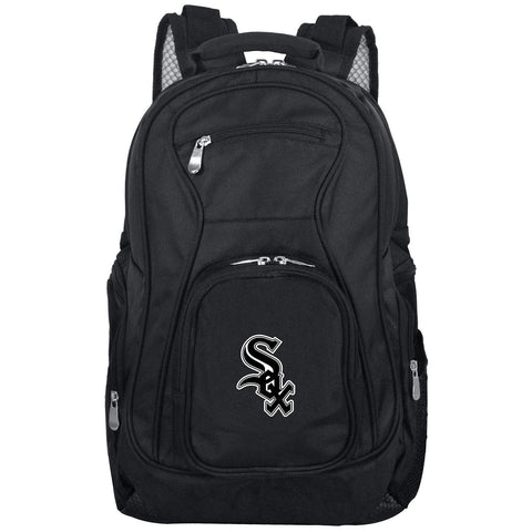 Chicago White Sox Backpack Laptop-BLACK