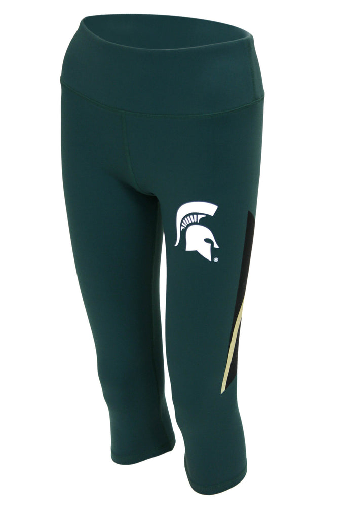 Michigan State Spartans Women's Yoga Pant (Green)
