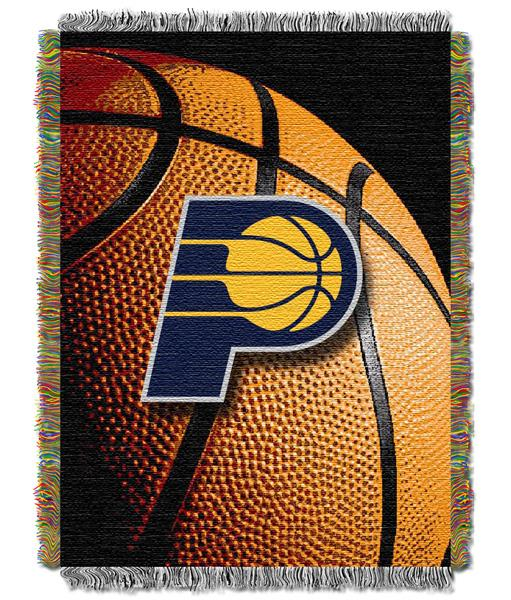 "Indiana Pacers NBA ""Photo Real"" Woven Tapestry Throw"
