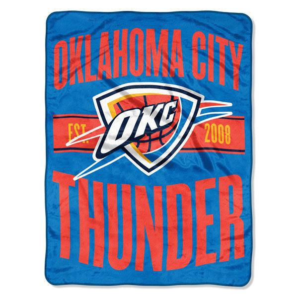 Oklahoma City Thunder NBA Clear Out Micro Blanket
