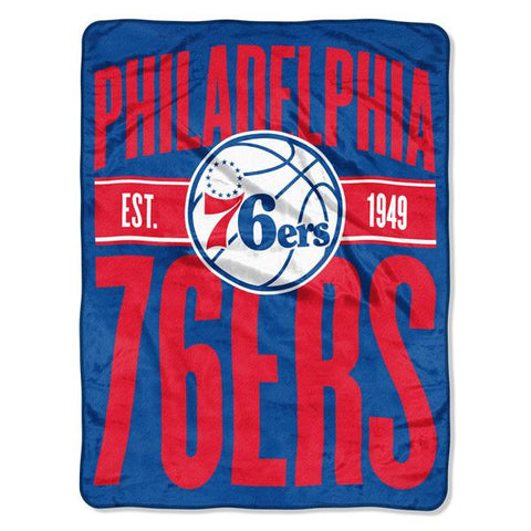 Philadelphia 76ers NBA Clear Out Micro Blanket