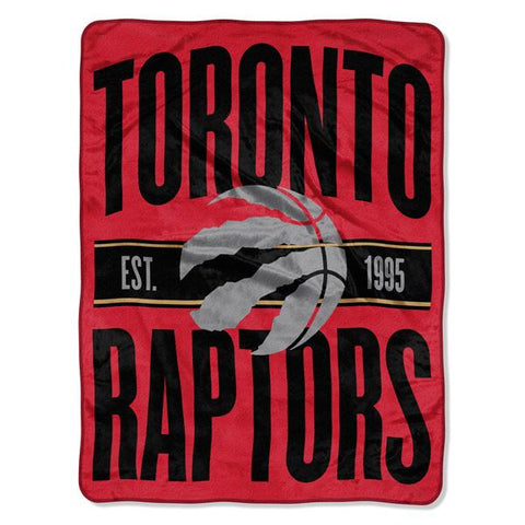 Toronto Raptors NBA Clear Out Micro Blanket
