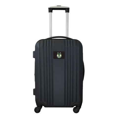 Milwaukee Bucks Luggage Carry-on 21in Hardcase two-tone Spinner 100% ABS-BLACK