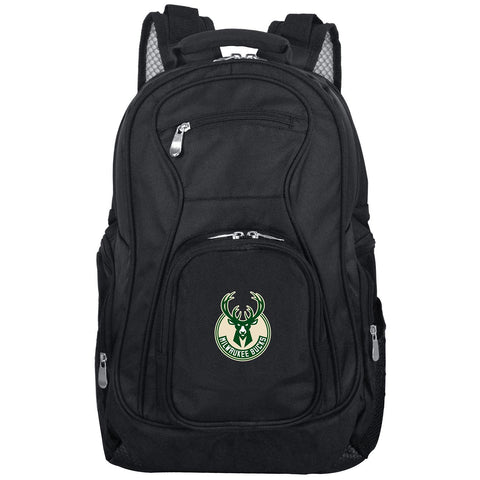 Milwaukee Bucks Backpack Laptop-BLACK