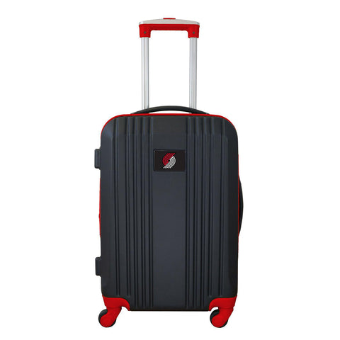 Portland Trailblazers Luggage Carry-on 21in Hardcase two-tone Spinner 100% ABS-RED